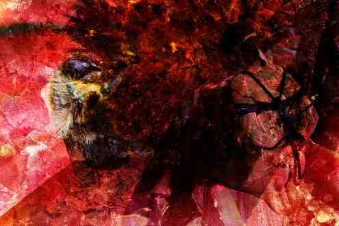 """""""conseil des arts Warren Baird collage numerique nue figuratif cv biographie"""""""