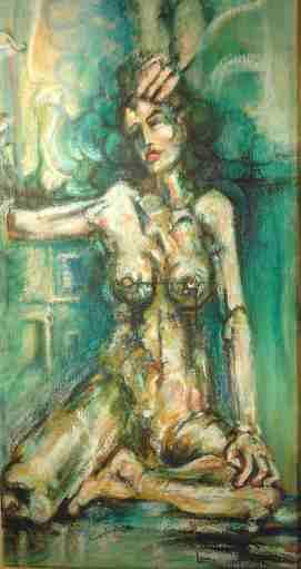 """""""conseil des arts Louiselle Canuel Louca peinture nue figuratif cv biographie"""""""