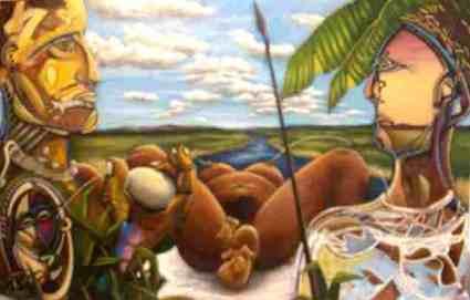 """""""conseil des arts Bob Desautels peinture figuratif cv biographie"""""""
