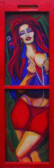 """conseil des arts Yolanda Vander Kolk peinture nue figuratif cv biographie"""