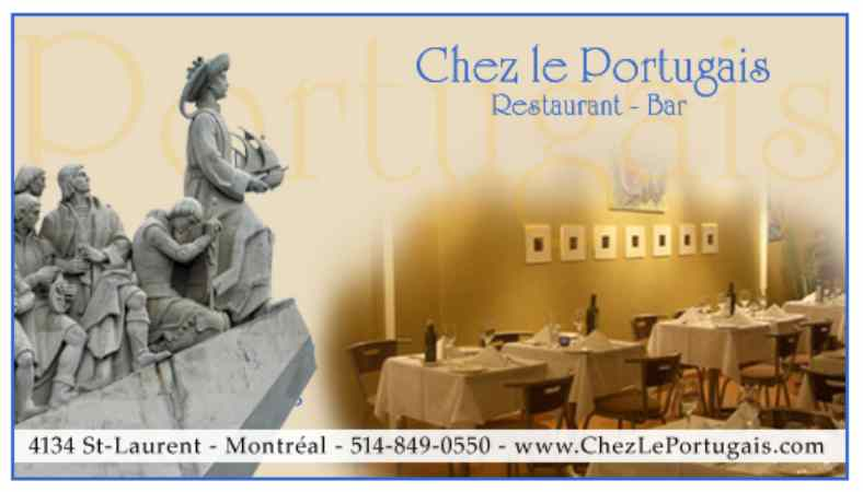 Restaurant Chez le Portugais